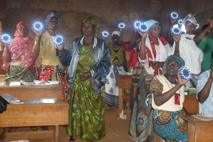 Image for LEDs Light up Tanzania's Homes