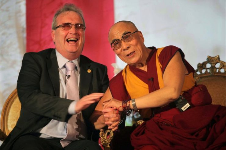 Image for Dalai Lama praises founder of peace charity at Power of Forgiveness event in Ireland