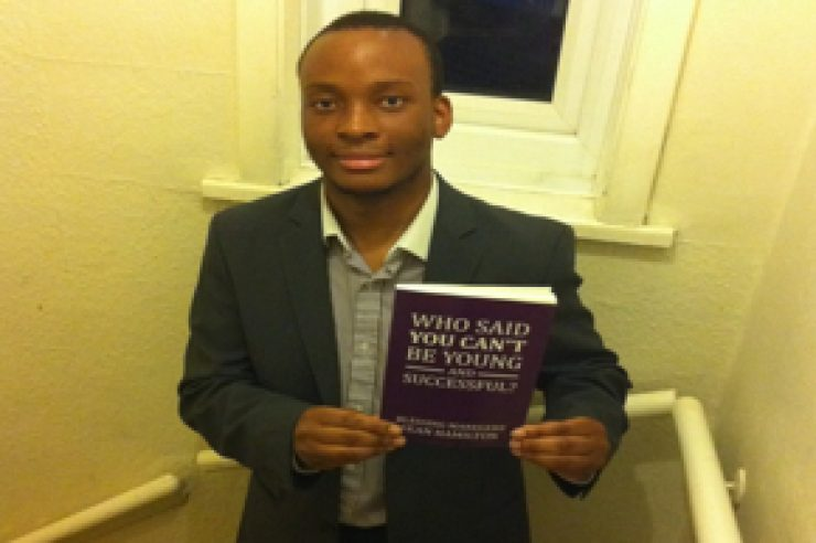 Image for 18-year-old publishes entrepreneurs book