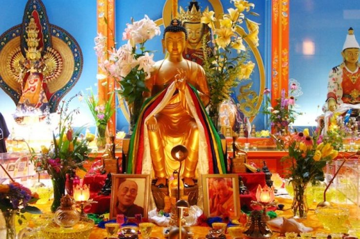 Image for Sacred Buddhist relics to visit UK on world tour