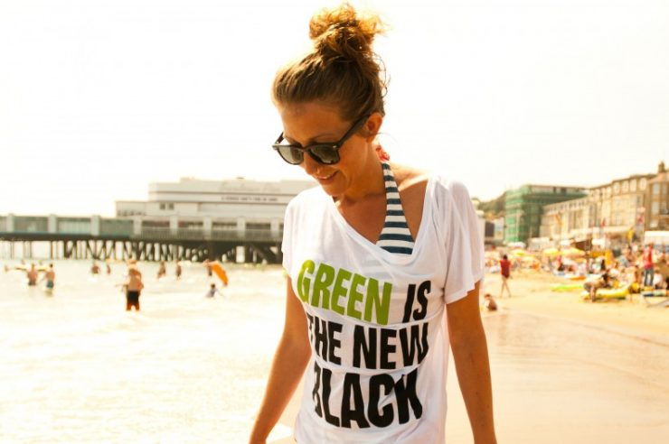 Image for A fashionable way to go green