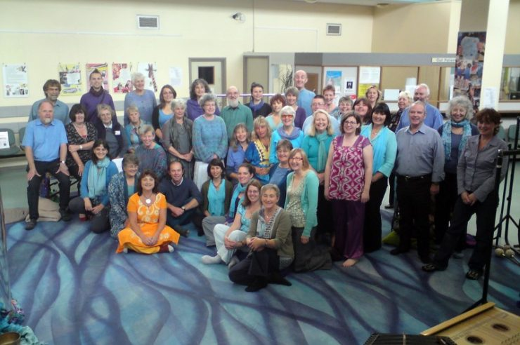 Image for Sound healing brings peace to hospital patients