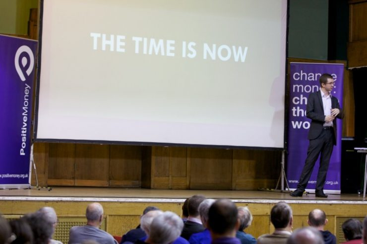 Image for Conference on reforming the money system draws 300 people