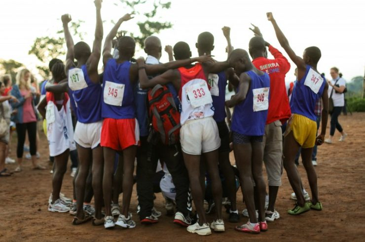 Image for Unique African marathon offers hope to street children