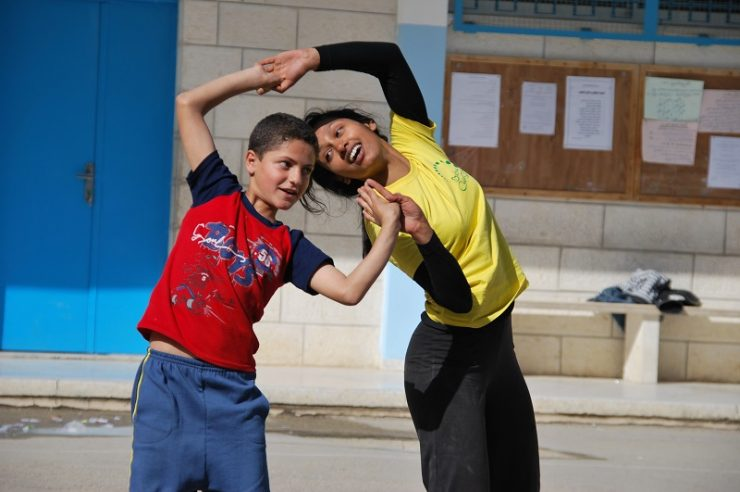 Image for A dance of hope for child refugees in Middle East