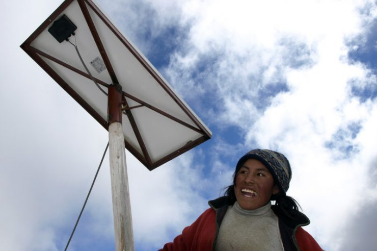 Image for Peru's poorest to get power through government solar scheme