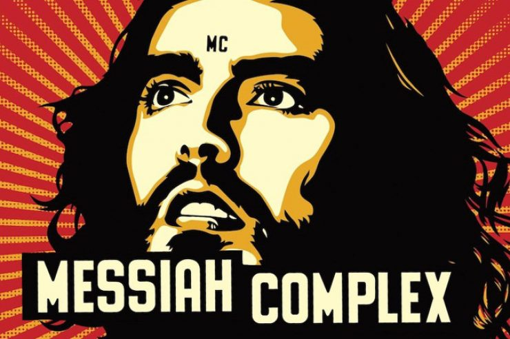 Image for Review: Russell Brand, Messiah Complex
