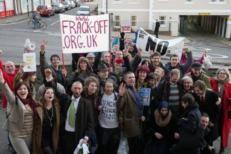 Image for Balcombe fracking campaigners cleared over obstruction