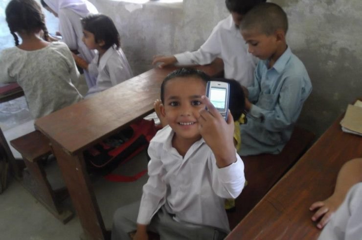 Image for Mobile technology boosts literacy