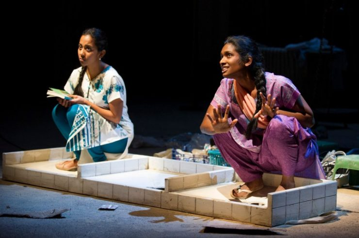 Image for Review: Behind The Beautiful Forevers at the National Theatre, London