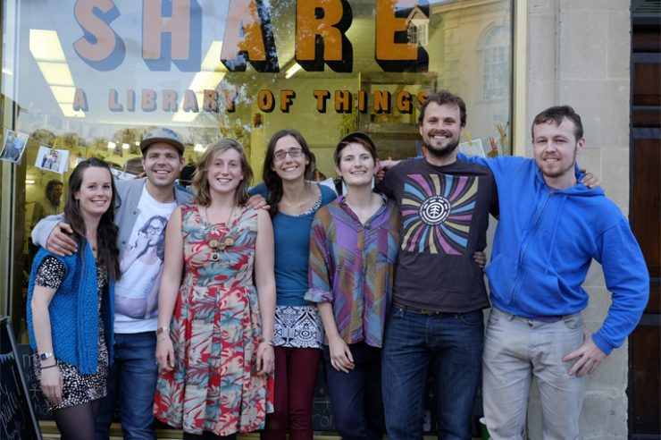 Image for UK's first 'share shop' opens for business