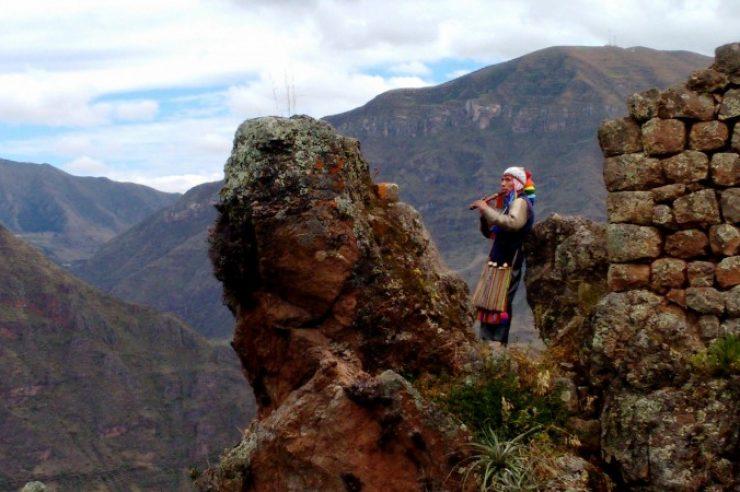 Image for A sacred journey through Peru