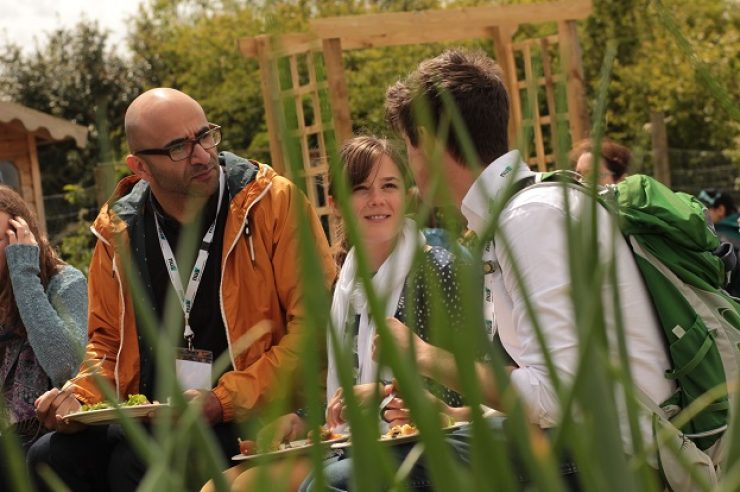Image for Academia and allotments: the students growing their own food