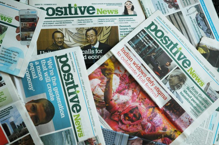 Image for The top 10 Positive News stories of 2015