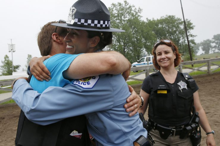 Image for US police to learn compassion
