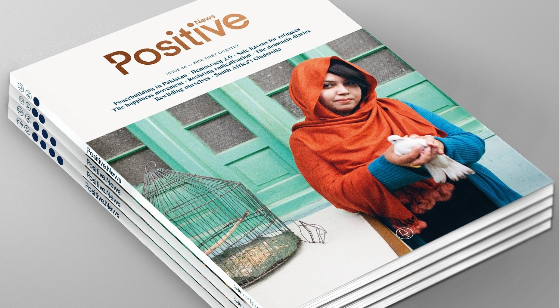 Positive News relaunches in print - Positive News
