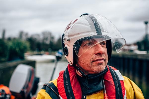 Matt Allchurch, volunteer at Teddington lifeboat stationI.