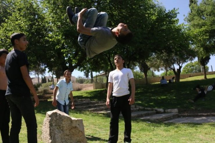 Image for For Jerusalem's young men, parkour is freedom