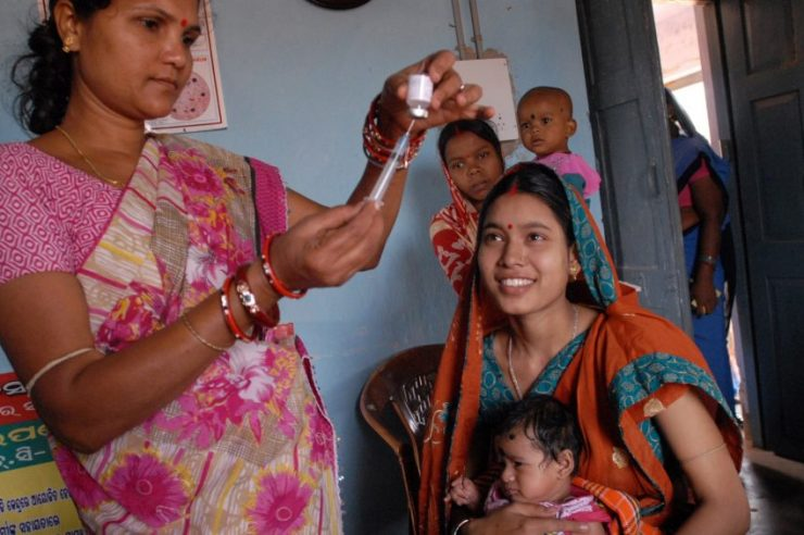 Image for Ending polio worldwide within reach
