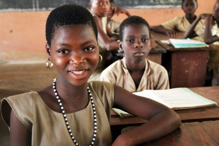 Image for Benin children freed from captivity