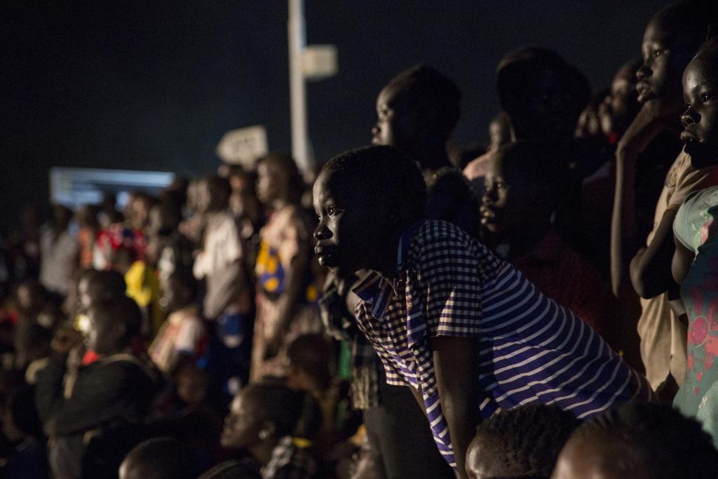 Kakuma Village - Olympic spectators