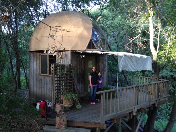 When sociology professor Tracey Harris received a research grant to explore 'tiny house' living, she took her daughter and husband along for the adventure