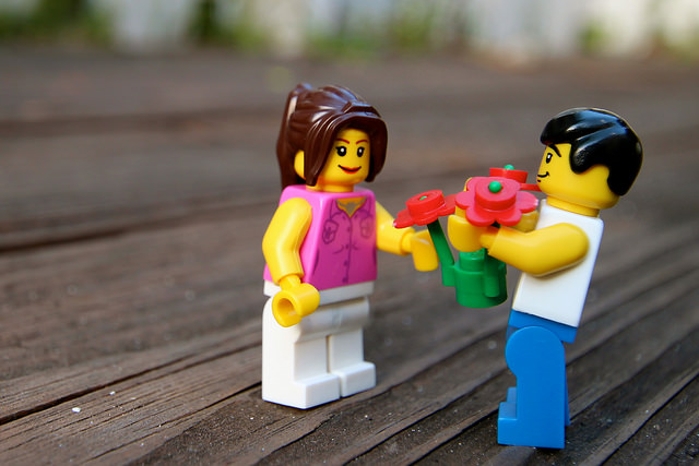 Lego flowers - Ale Art (Flickr)