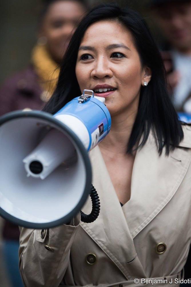 Michelle Kwan, National Pantsuit Day - October 2016 - Benjamin Sidoti