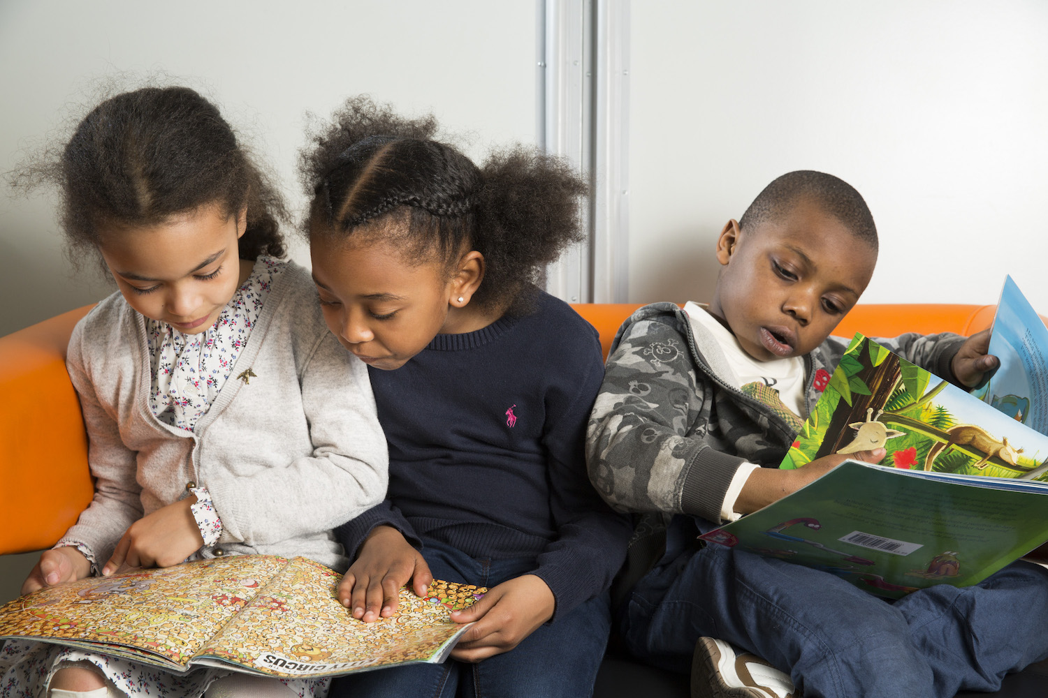 Children at The Reading Agency's Summer Challenge, Deptford Library, London