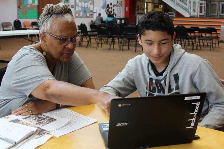 Image for Bridging the digital divide: Hack the Hood