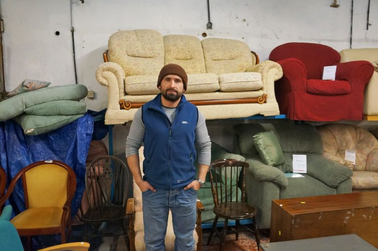 Image for Turning the tables: the old furniture giving homeless people fresh chances