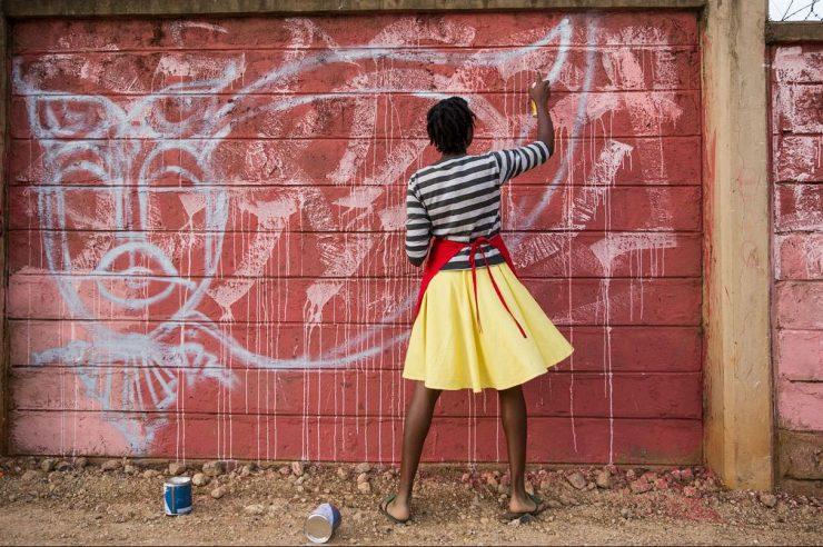 Image for Kenya's high priestess of graffiti
