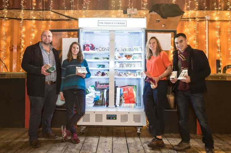 Image for Cool run-ins: London's first community fridge launches