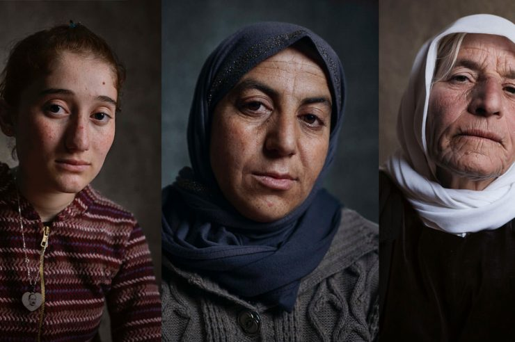 Image for Photos capture the 'incredible strength' of Yezidi women in Iraq