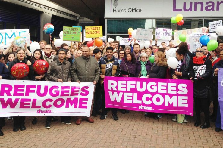 Image for Take in more Syrian refugees, urges UK public