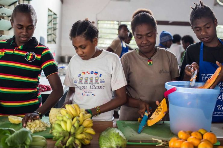 Image for Islands propose ban on western junk food
