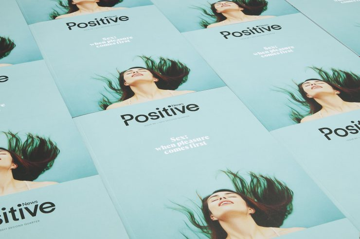 Image for New issue of Positive News magazine puts pleasure first