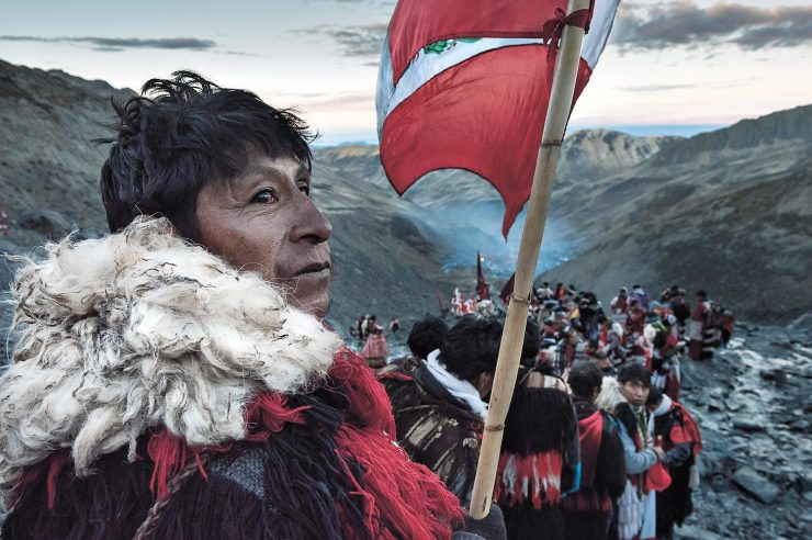 Image for Through my lens: a mountain of devotion