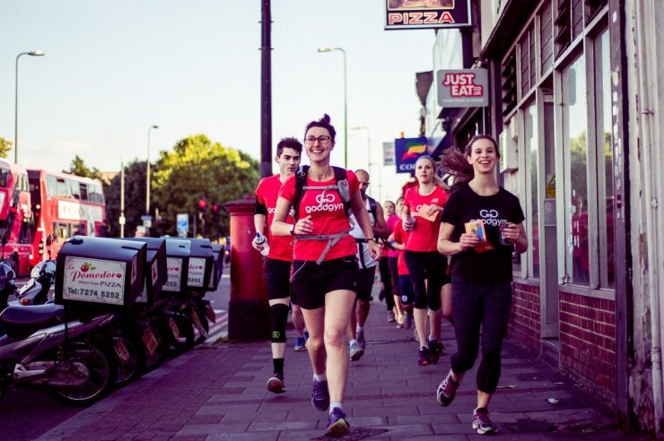 Image for A need for deeds: the gym where running isn't about speed, but doing good