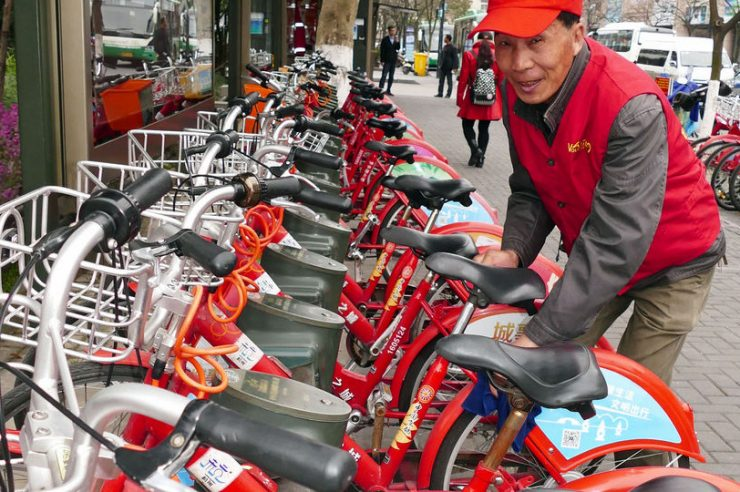 Image for World's biggest bike share scheme clocks up 115m hires per year