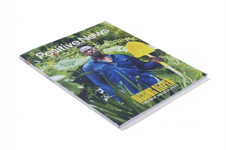 Image for Being mankind: new issue of Positive News magazine focuses on masculinity