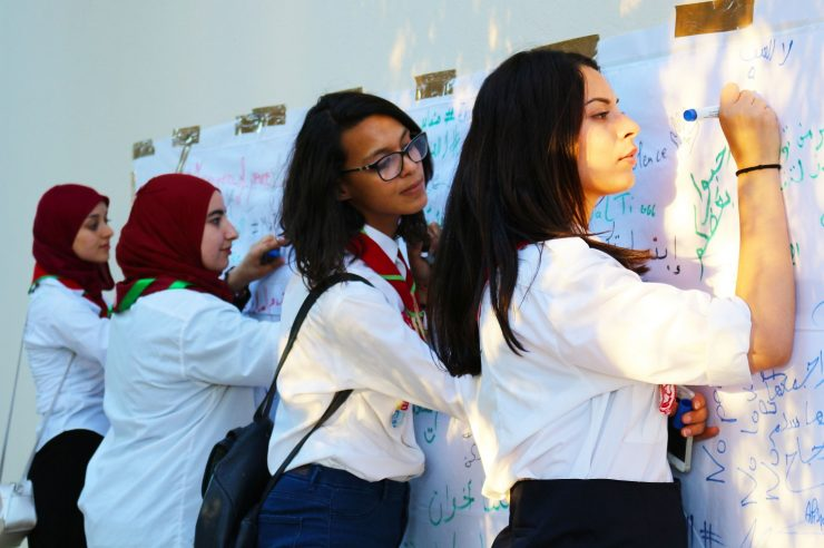 Image for In Tunisia, one of the world's biggest exporters of jihadists, Girl Scouts are helping combat extremism