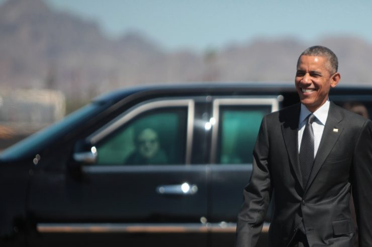 """Image for """"The world has never been healthier, wealthier, or better educated,"""" says Obama"""