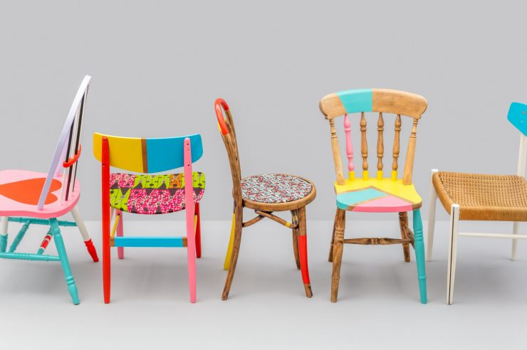 Image for Recovering addicts design upcycled chairs to highlight society's addiction to 'stuff'