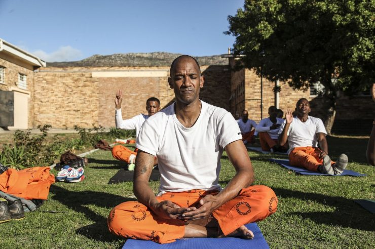 Image for Going inside: yoga and mindfulness in prison
