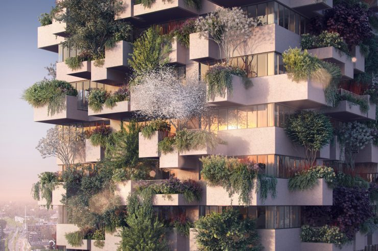 Image for The world's first vertical forest for low-income housing is coming to the Netherlands