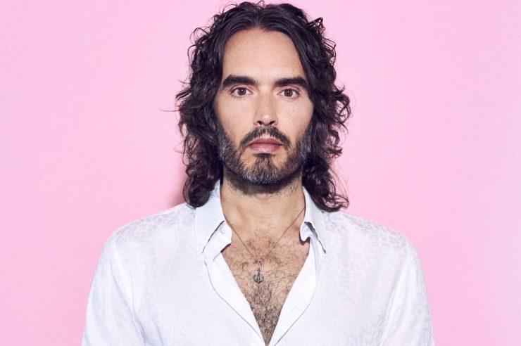 Image for Russell Brand: 'We're all on the scale of addiction'
