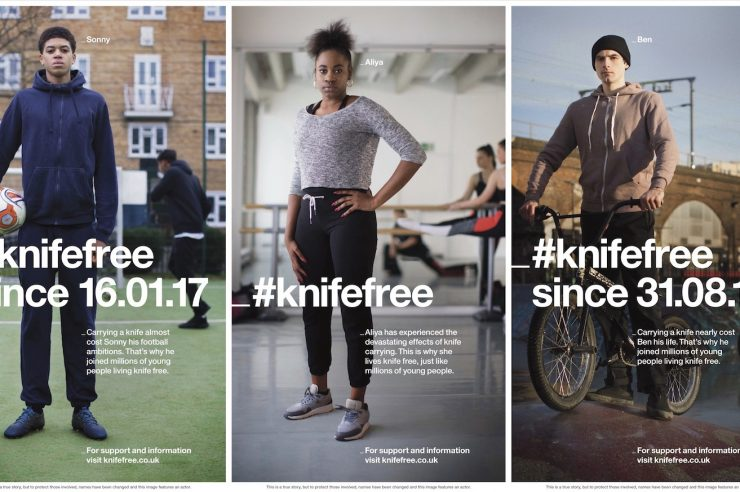 Image for Real-life stories of young people who have gone #knifefree at heart of ad campaign