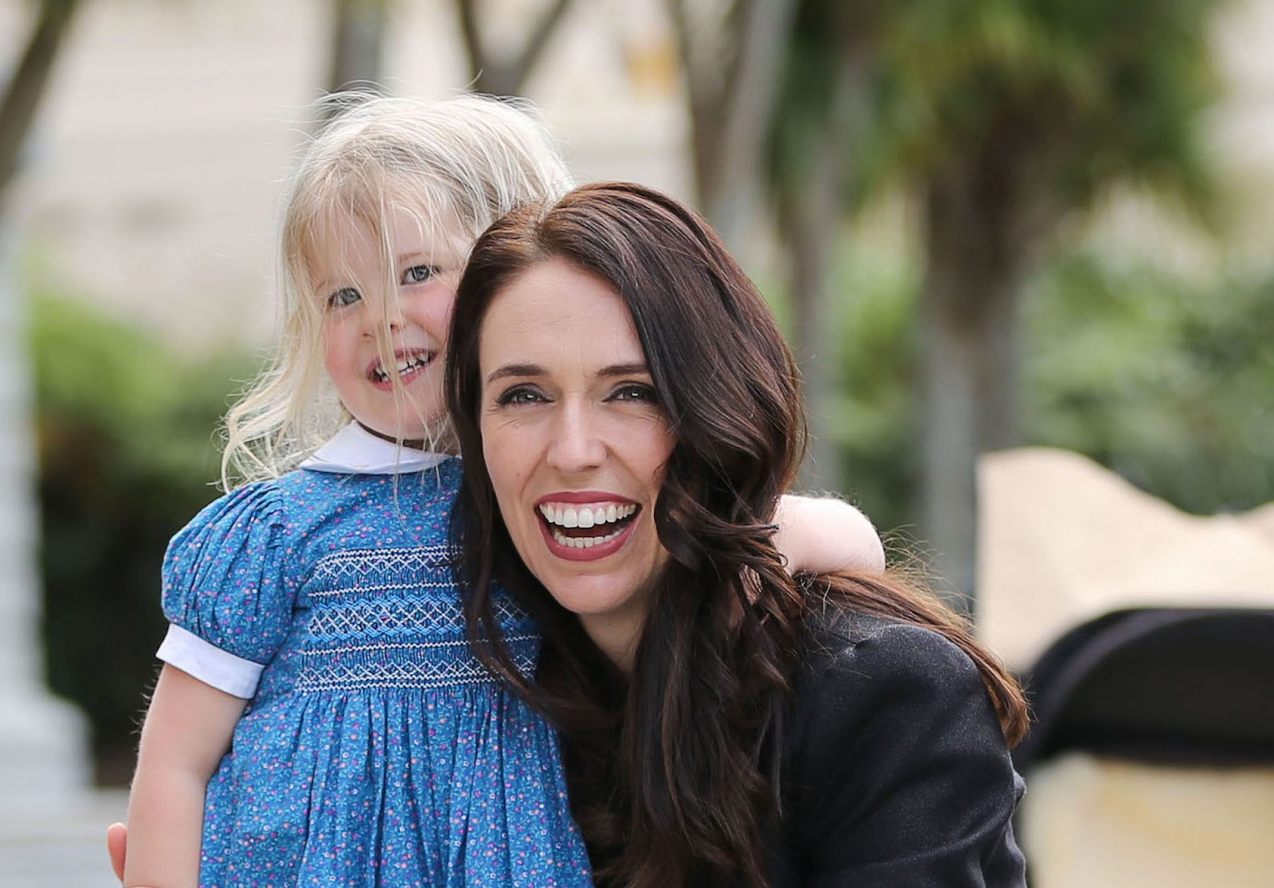 Image for Bringing up a nation: New Zealand's prime minister on combining family and career