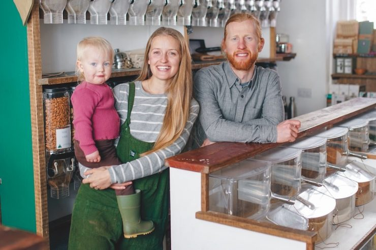 Image for Zero heroes: the couple behind the UK's first zero-waste shop